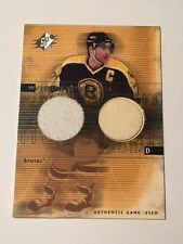 Ray Bourque 2000 Upper Deck SPx Winning Materials Jersey/Stick #RB Bruins HOF