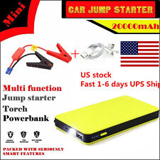 US ! 20000mAh Car Jump Starter Multi-Function  Power Booster Battery Charger 12V