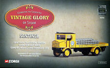 CORGI VINTAGE GLORY SENTINEL STEAM WAGON BLUE CIRCLE CEMENT 80005