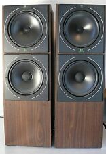 VINTAGE KEF C75 SPEAKERS X 2 IN BOX SP3095AA