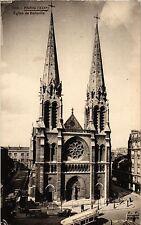 CPA PARIS 19e - Eglise de St-Jean-Baptiste de Belleville (302449)