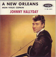 ☆ CD Single Johnny HALLYDAY A New Orleans 2-track Ltd ☆