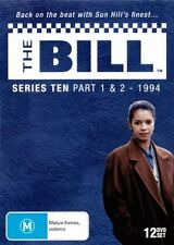 THE BILL : ITV SERIES 10 parts 1 & 2  - DVD - UK Compatible -Sealed (12 disc)