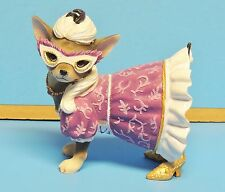 Aye Chihuahua Masquerade Westland Giftware Decorative Collectible EUC
