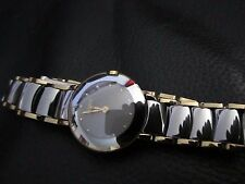 RADO DIASTAR WOMAN  Quartz Ceramic 18K PVD MOTHER OF PEARL FACE RARE HARD 2 FIND