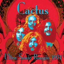 Cactus -Ultra Sonic Boogie Live 1971  CD NEW