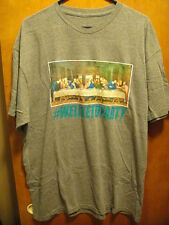 2 MONKEYS  ~ XL ~ #WELIKETOPARTY ~ JESUS at the LAST SUPPER ~ T Shirt