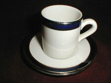 Sterling Restaurant Ware  Aviation AMERICAN AIRLINES Demitasse Cup Saucer/s