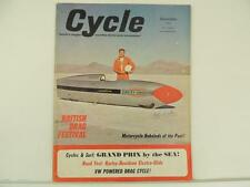 Vintage Dec 1964 CYCLE Magazine Grand Prix Harley Triumph Honda Parilla L2868