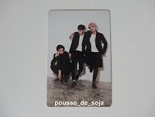 EXO Baekhyun Chanyeol Chen Season's Greetings 2016 Photocard Card (China ver.)