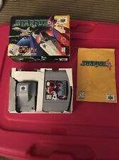 Star Fox 64 (Nintendo 64, 1997) CIB Complete in Box With Rumble Pack