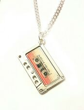 Guardians of the Galaxy inspired awesome mix vol. 1 pendant necklace tape