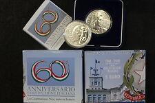 ITALIA 2008 60° ANNIVERSARIO COSTITUZIONE ITALIANA 5 EURO ARGENTO FIOR DI CONIO
