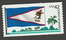 US 4276 Flags of our Nation American Samoa 42c coil single MNH 2008