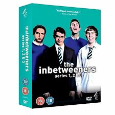 THE INBETWEENERS Channel 4 Complete Series 1 2 3 DVD Collection Boxset + Extras