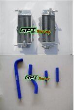 Aluminum Radiator & Hose YAMAHA YZF250 YZ250F WR250F 2001 2002 2003 2004 2005