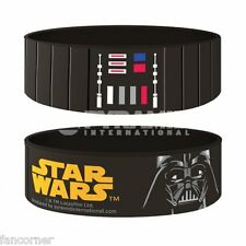 Star Wars bracelet officiel pvc Darth Vador star wars official rubber wristband