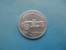 1925-SUNBEAM 3 LITRO AUTO SHELL COIN TOKEN