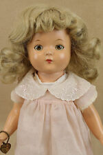 "15"" vintage antique composition Effanbee PATRICIA child doll"