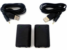 2 Paquetes De Baterías Recargables + Cable Para Xbox 360 Pack Power Play