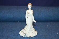 Lovely Coalport ''Crystal'' Bone China Figurine 1999 Made In England USC RD6604