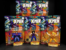 1996 TOYBIZ X-MEN THE AGE OF APOCALYPSE 5 FIGURE SET SABRETOOTH WEAPON X D20