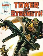 A Fleetway Battle Picture Library Pocket Comic Book Magazine #764 Tower Of Stren