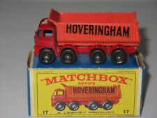 MATCHBOX Regular Wheels 17 Foden Hoveringham 8-Wheel Tipper Truck NM E4 box