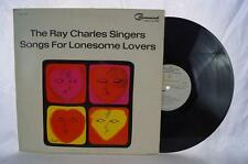Vintage The Ray Charles Singers Songs For Lonesome Lovers Album Vinyl LP