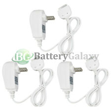 3 NEW Home Wall AC Charger for Apple iPhone 1st 2nd 3rd Gen 1G 2G 3G 3GS 4 4G 4S