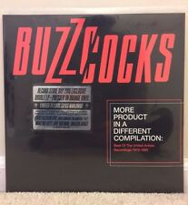 """Buzzcocks - More Product in a Different Compilation 2LP 12"""" Orange RSD 2016"""