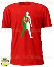 Cristiano Ronaldo Shadow Portugal Flag Futbol Jersey Shirt Men S-XL Real Madrid