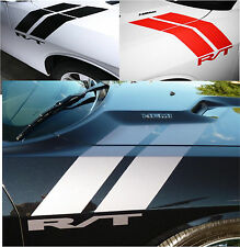 Dodge decals Challenger / Charger  RAM RT Hood Fender Stripes Vinyl Decal Hemi