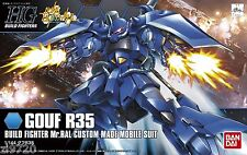 HGBF Gouf R35 Build Fighter Mr. Ral Custom made Mobile Suit 1/144