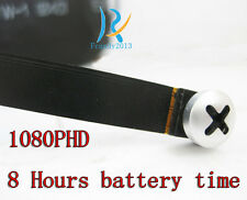Built-in 8hours battery long recorder 1080P HD smallest mini spy 64GB camera DVR