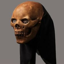 Skull Latex Head Mask Halloween Dress Party Cosplay Ghost Skeleton Tricky Prop