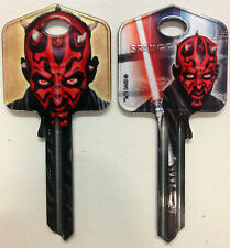 Star Wars DARTH MAUL Blank Key fit Yale 1A/U6D/UL2 Lightsabre The Force Awakens