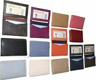 New women men's Leather Business card case. ID/credit card fifty card holder NWT