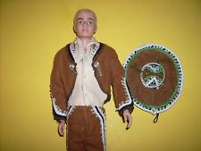 Ken doll in Mexico Costume #0778 doll clothes Theatre outfit 1964 Vintage Barbie