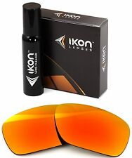 Polarized IKON Iridium Replacement Lenses For Oakley Jawbone Fire Mirror