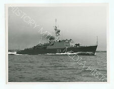 Vintage Press Photo, HMCS Algonquin, Royal Canadian Navy, Post War Photo c. 1953