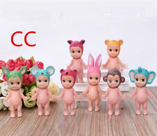 Sonny Angel Mini Figure baby doll Animal toys collection Kids 8pcs