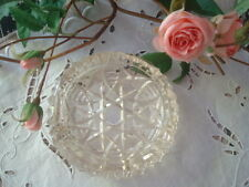 CENDRIER ANCIEN en CRISTAL / Old ashtray in crystal