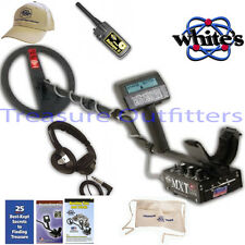 "Whites MXT 10"" DD All Pro Metal Detector with Free Bullseye II, Headset, Apron"