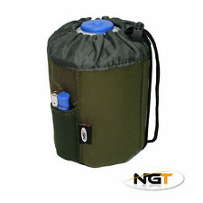 NEW GREEN NEOPRENE GAS CANISTER BOTTLE COVER FOR 450g GAS BOTTLES - NGT