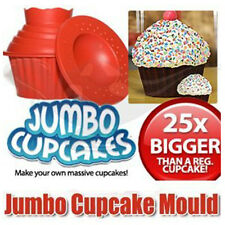 NEW JUMBO GIANT BIGTOP MEGA BIRTHDAY CUP CAKE SILICONE MOULD CUPCAKE BAKING BAKE