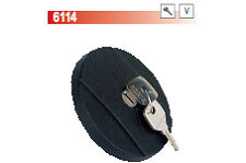 SUNBEAM 1250 TUTTI GLI ANNI TAPPO SERBATOIO CARBURANTE CON CHIAVI COD. 6114