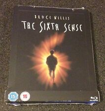 THE SIXTH SENSE Blu-Ray SteelBook Zavvi UK Exclusive Region Free. New OOP & Rare