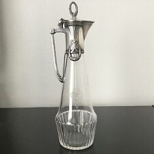 WMF Signé Carafe ART NOUVEAU 1900 Jugendstil Secession Liberty ANTIQUE