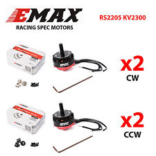 EMAX RS2205 2300KV CW/CCW Motor for FPV Mini Racing Quadcopter 2 Pairs UK stock